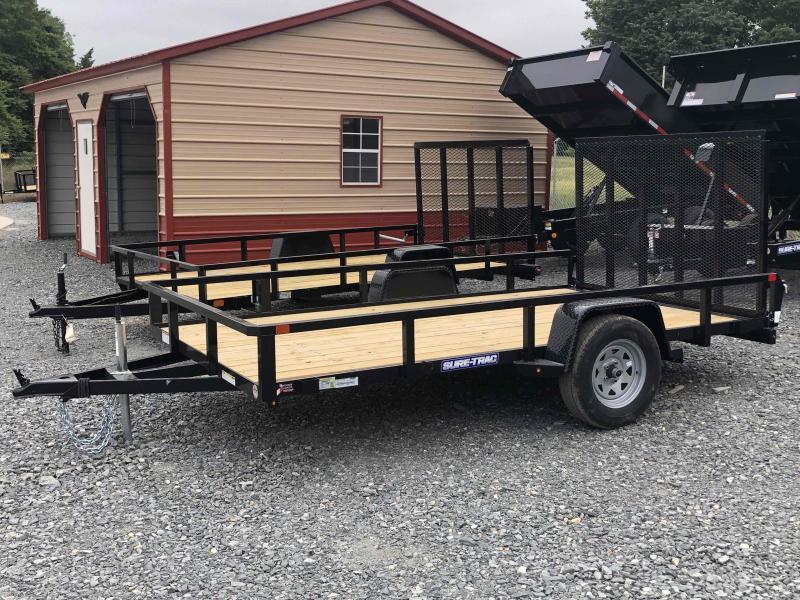 2021 Sure-Trac ST7212TA-B-030 Utility Trailer