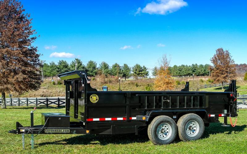 2021 Quality steel Dump Trailer 7x14 ft 14k GVWR