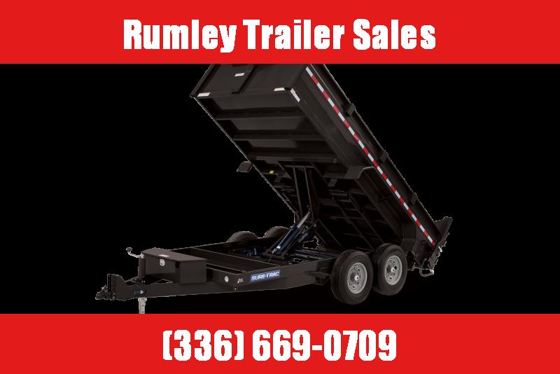 2022 Sure-Trac ST8214HLOD-B-140 Dump Trailer