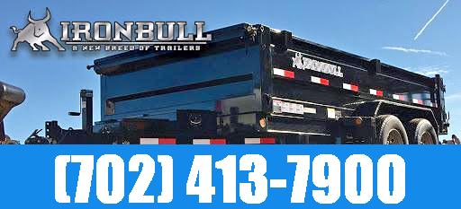 2021 Iron Bull 7X14 Dump Trailer