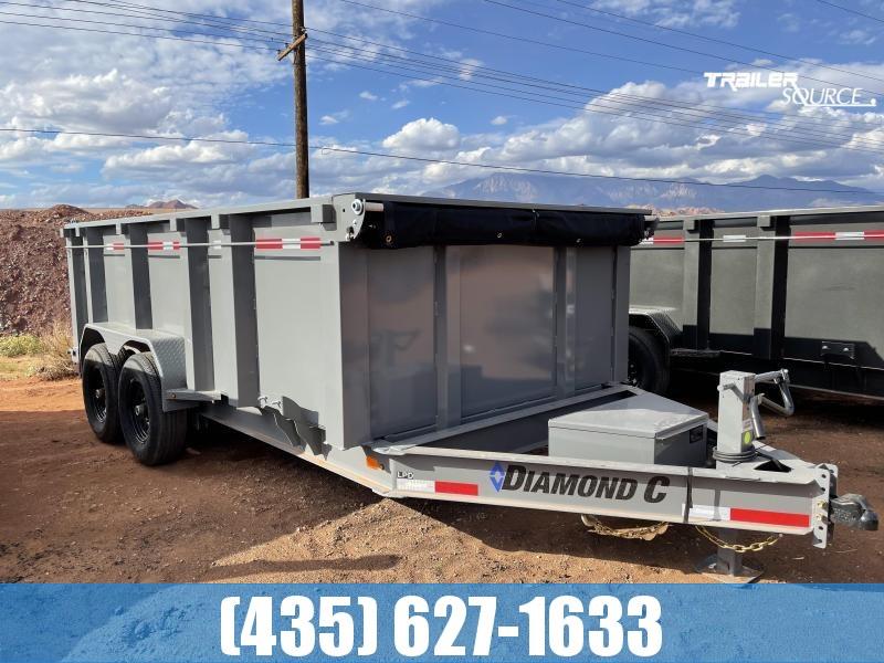 2022 Diamond C 7x14 LPD615 207 pkg 14.9K Dump Trailer