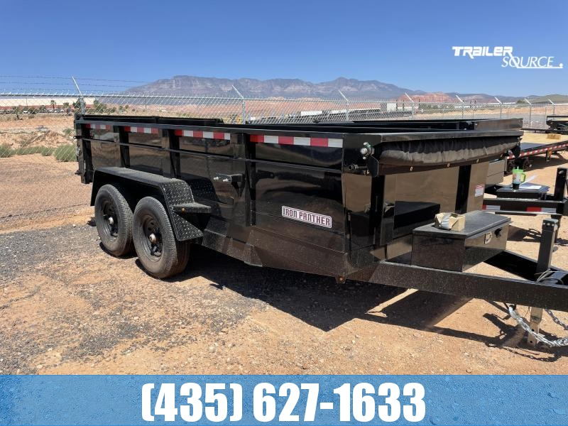 2022 Iron Panther DT278 7x14x2 Utility Trailer