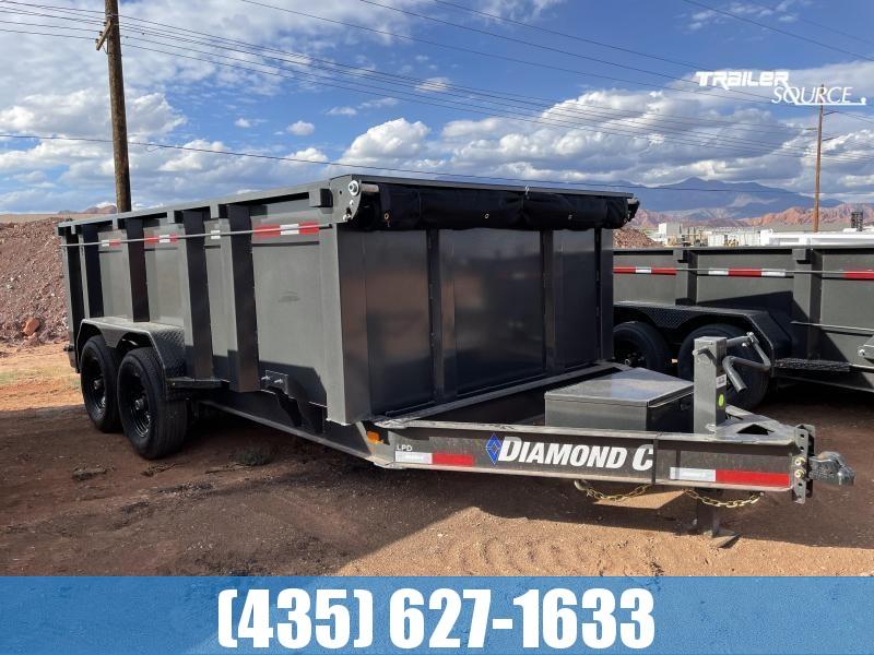 2022 Diamond C 7x14 LPD615 207 Package (14.9K) Dump Trailer