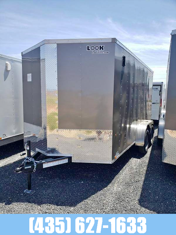 2021 Look Trailers Look 7x14 Element Tandem Axle Cargo Trailer Enclosed Cargo Trailer
