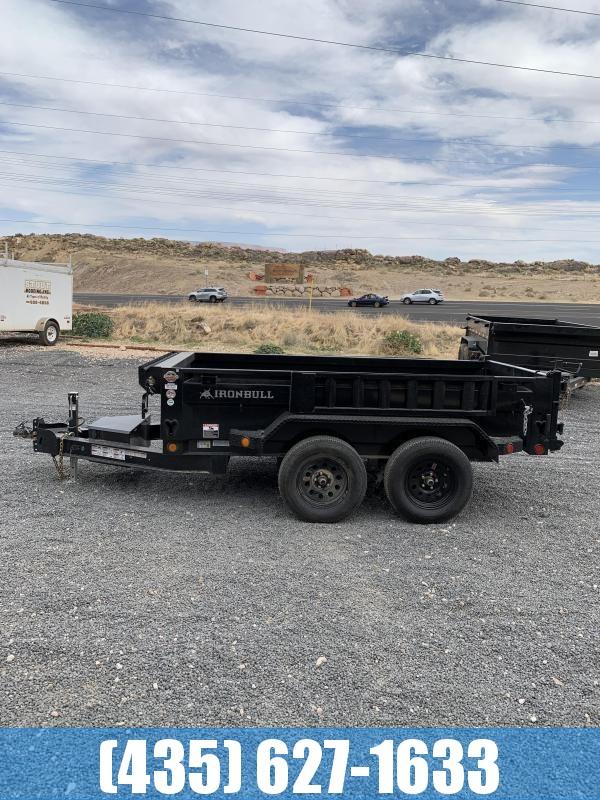 2021 Iron Bull DTB 5x10 7k Scissor Dump Trailer