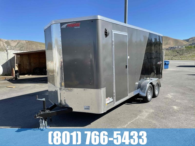 2021 Mirage Trailers 7x16 Enclosed Cargo Trailer