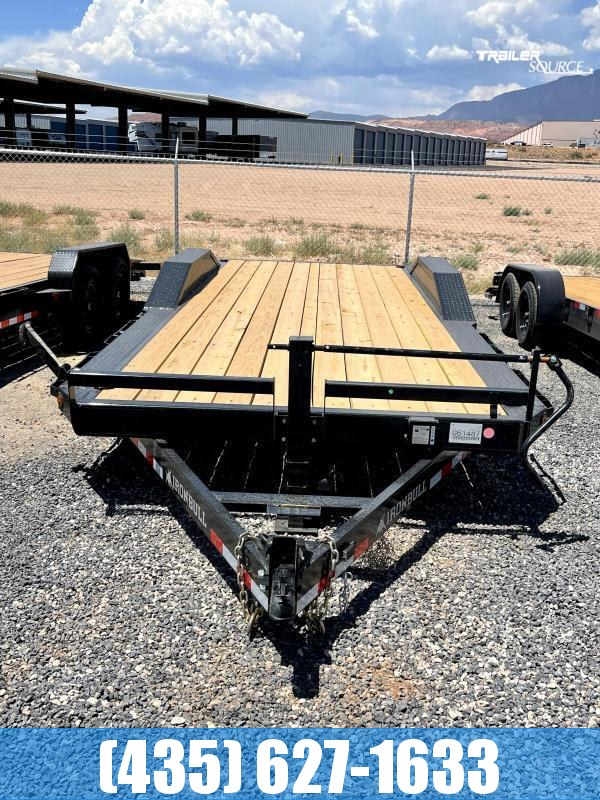 2021 Iron Bull ETB14 8X22 DOF Dovetail Equipment Trailer