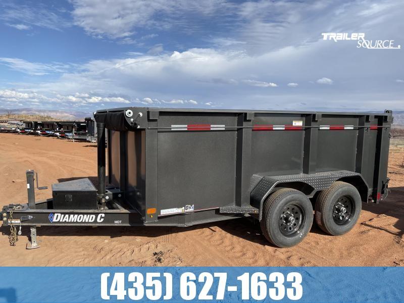 2022 Diamond C MDT 6.5x12 207 pkg.(10K GVWR) Dump Trailer