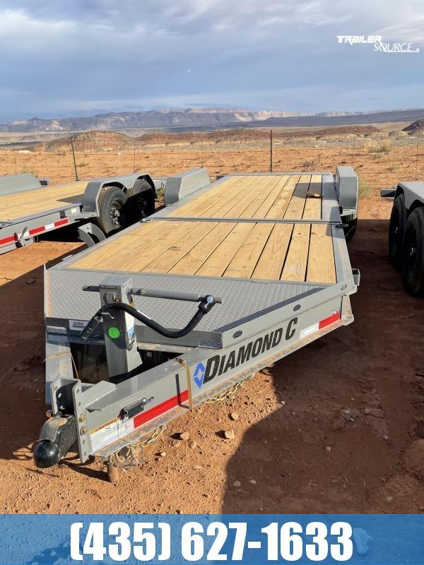 Diamond C 7x22 HDT207(14.9K) Tilt Equipment Trailer