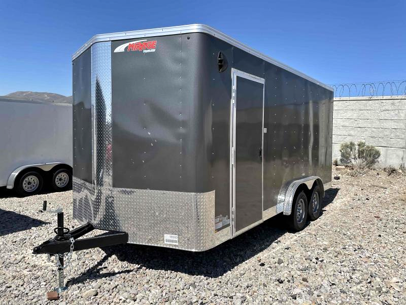 2021 Mirage Trailers 7.5x16 Enclosed Cargo Trailer