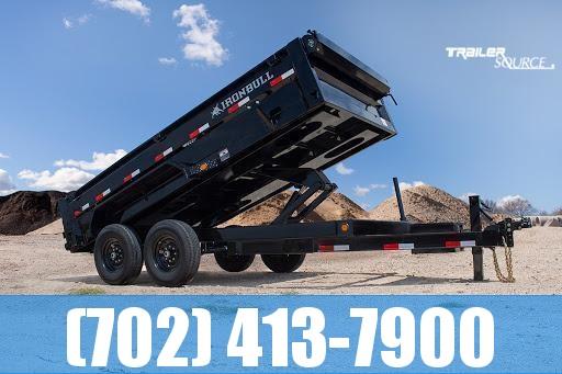 2022 Iron Bull DTB 7X14 16K Dump Trailer