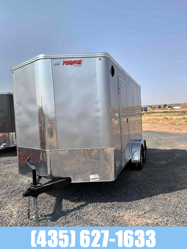 2021 Mirage Trailers NEW 2021 Mirage Side By Side Enclosed Trailer Enclosed Cargo Trailer