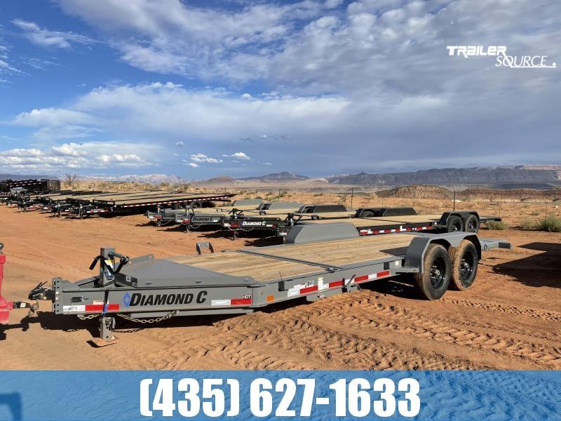 2022 Diamond C HDT 7x20 207pkg.(14.9K GVWR) Low Profile Heavy Duty Tilt Equipment Trailer