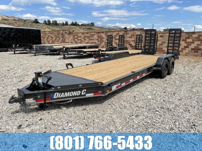 2021 Diamond C Trailers 7x22 Equipment Trailer