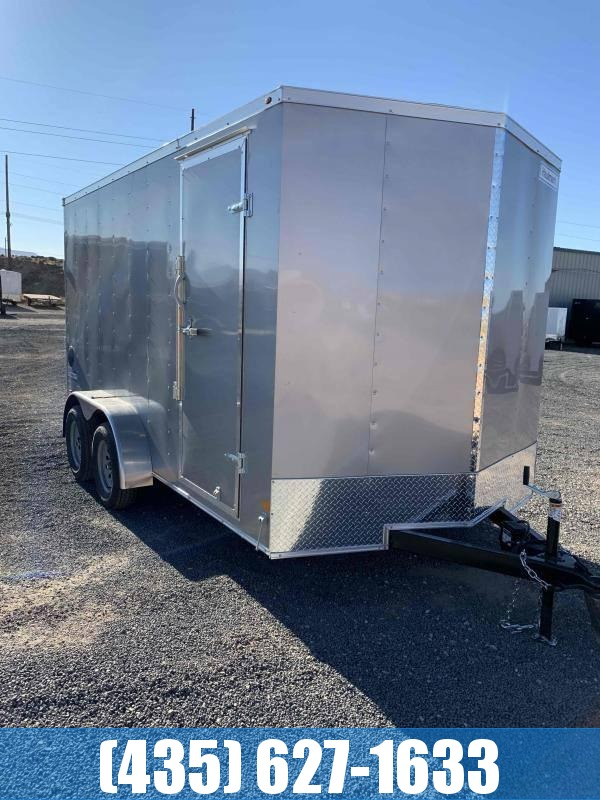 NEW 2021 7x16 Haulmark Passport Deluxe Enclosed Cargo Trailer