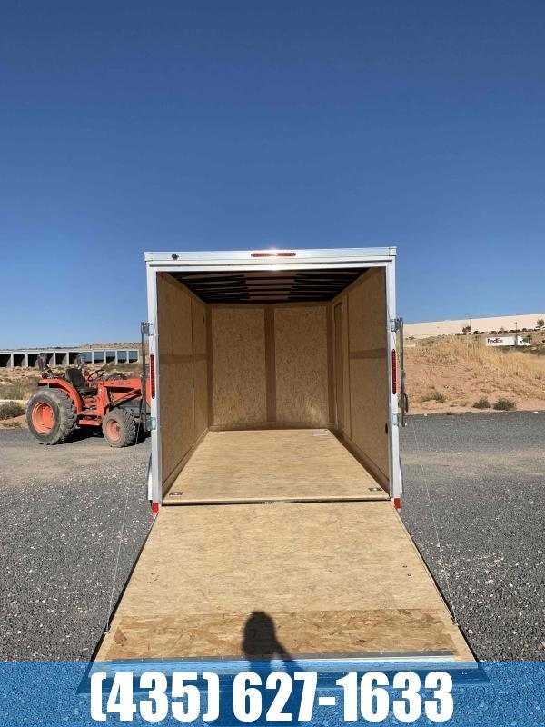 NEW 2021 7x16 Haulmark Passport Deluxe Enclosed Cargo Trailer