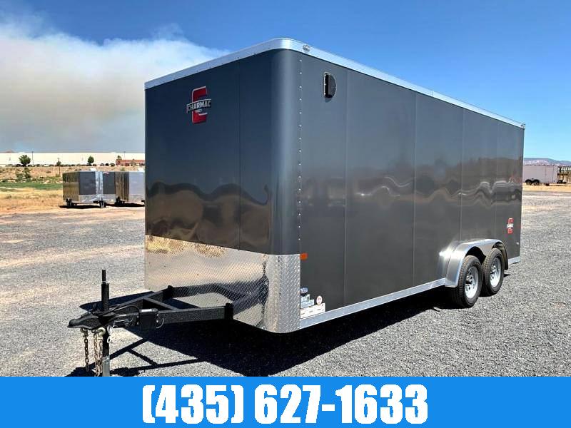2021 Charmac 7.5x18 Enclosed Cargo Trailer