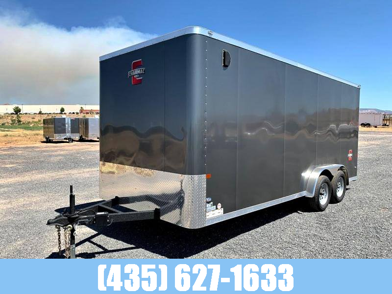 2021 Charmac 7.5x18 Enclosed Cargo Trailer