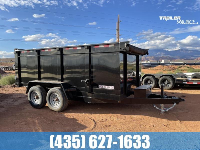 2022 Iron Panther 7x14X4 DT285 14K Dump Trailer