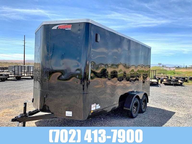 2021 Mirage Trailers Mirage 7x14 Xpress Tandem Axle Black Out Enclosed Cargo Trailer