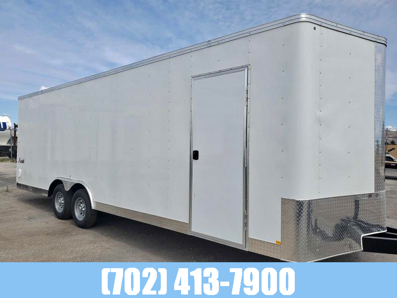 MIRAGE Trailers 102X24 10K Enclosed Trailer