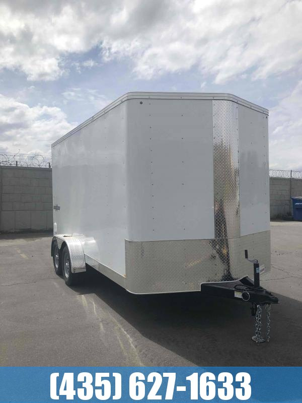 Mirage Trailers 7X14 Side by Side Pkg Enclosed Trailer