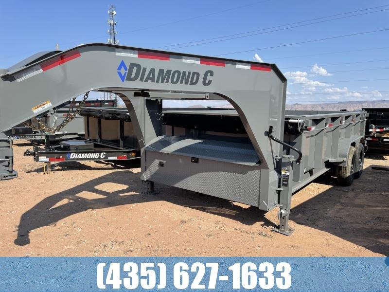 2022 Diamond C Trailers 7x16 LPD 615 Gooseneck Equipment Trailer