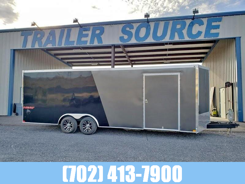 2021 Haulmark 8.5x24 10k Heat Enclosed Race Trailer Car / Racing Trailer