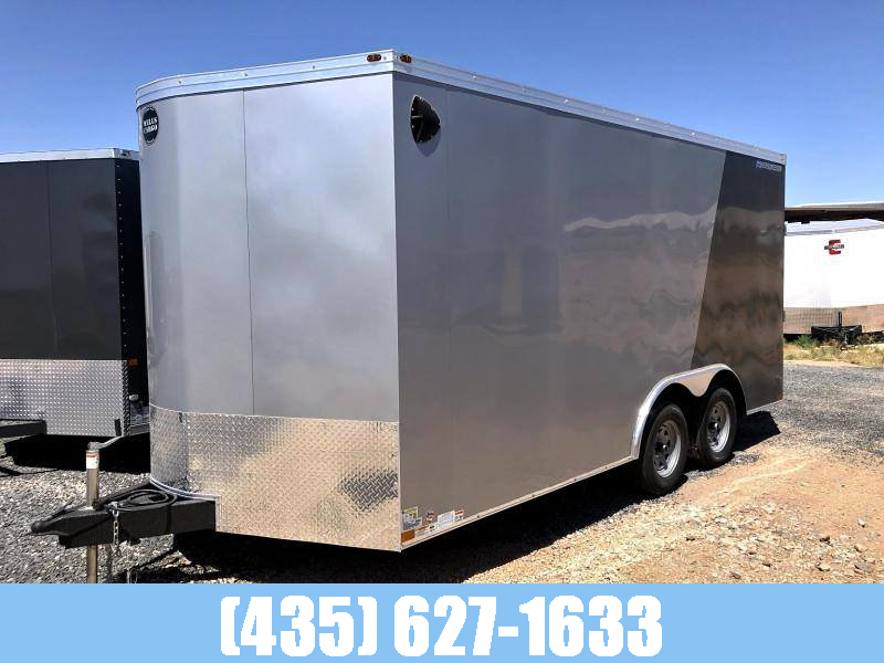 2021 Wells Cargo 8.5x16 Road Force Enclosed Cargo Trailer with UTV Package