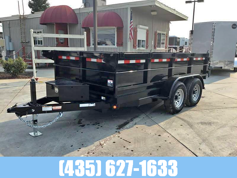 2021 Iron Panther 6x12 7k GVW Dump Trailer with Tarp