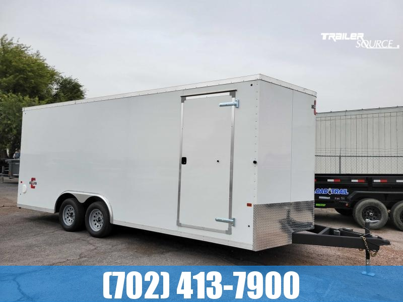2021 Charmac Trailers 8.5X20 STEALTH W/ EXTRA HEIGHT SCREWLESS LOADED Enclosed Cargo Trailer