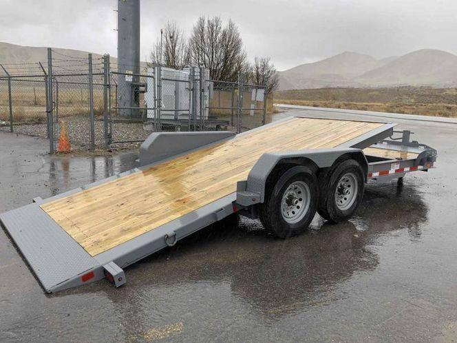 Diamond C 7x22 HDT Low Profile Equipment Tilt Bed Trailer