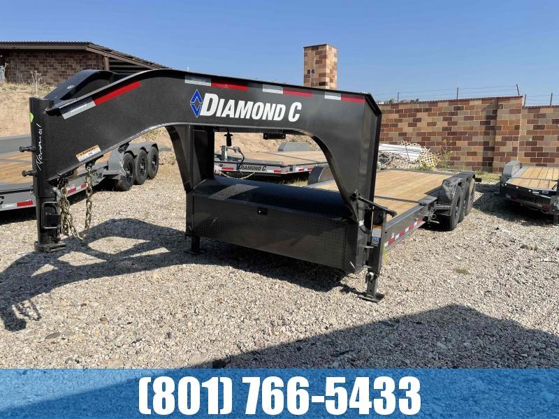2022 Diamond C Trailers 7x26 Triple Axle Tilt Equipment Trailer