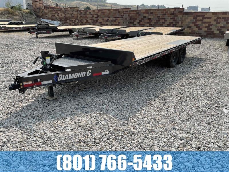 2021 Diamond C Trailers 102x20 Deckover Equipment Trailer