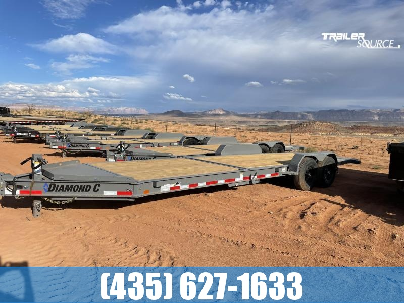 2022 Diamond C HDT 7x24 207pkg.(14.9K GVWR) Equipment Trailer