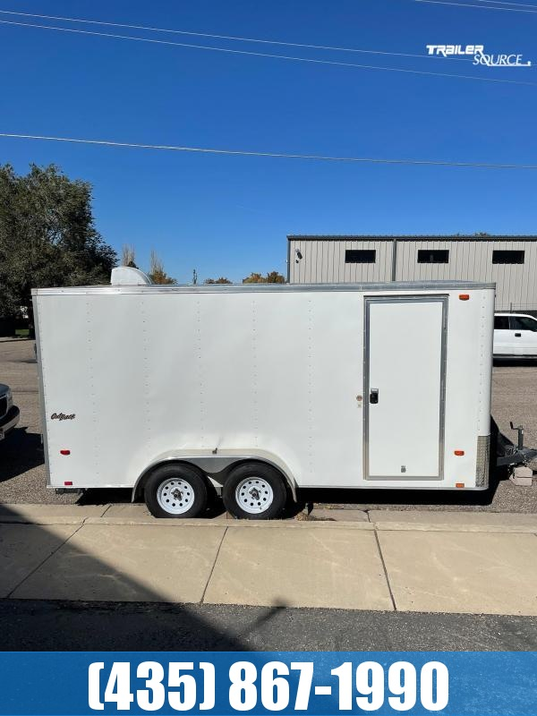 2015 Pace American OUTBACK CARGO 7X16 Enclosed Cargo Trailer
