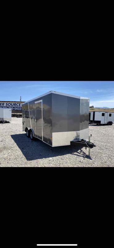 2021 American Hauler 102x16 Enclosed Cargo Trailer