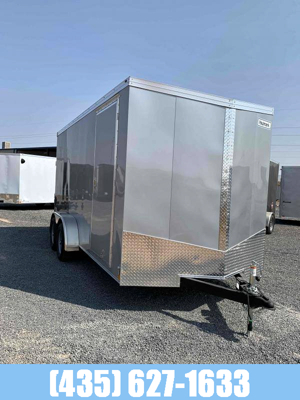 2021 Haulmark NEW Haulmark 7x16 Transport UTV Cargo Trailer Enclosed Cargo Trailer