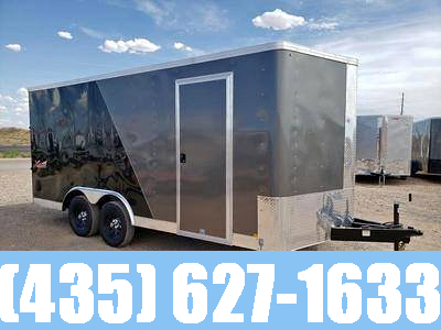 2021 Mirage 8.5x16 Xpress Enclosed Cargo Trailer with Side by Side Package