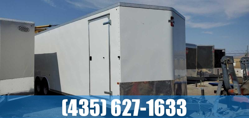 2021 Charmac Trailers Charmac Stealth 8.5x28 Enclosed Cargo Trailer Enclosed Cargo Trailer