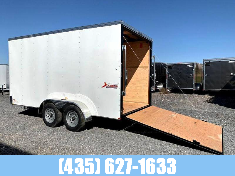 Mirage 7x16 Xpress Tandem Axle Enclosed Trailer with Ramp Door