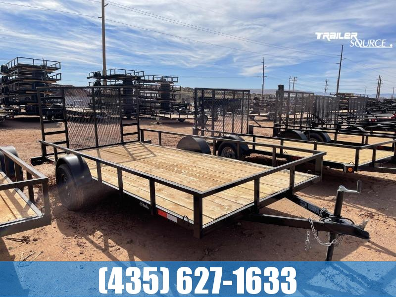 2022 7 Sons 7x14 Single Axle Utility Trailer with Gate