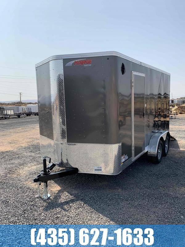 New 2021 Mirage 7x14 Side By Side Enclosed Cargo Trailer