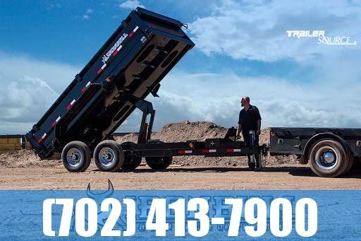 2022 Iron Bull DTB 7X14 14K Dump Trailer