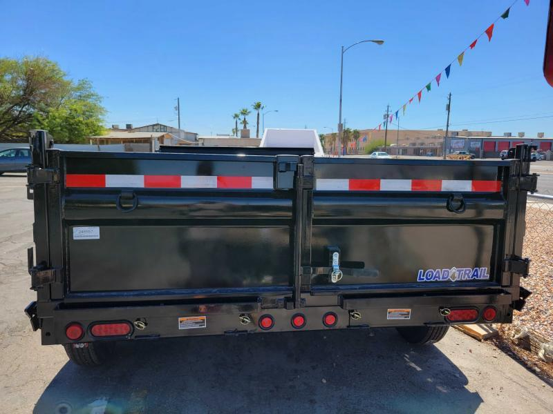 "NEW LOAD TRAIL 7X14 HD 14k Dump Trailer Scissor hoist 24"" sides"