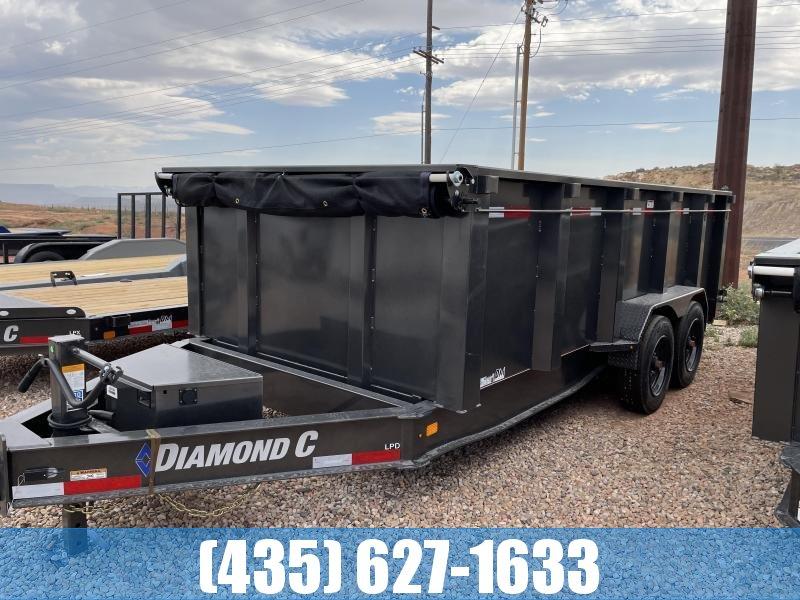 2021 Diamond C Trailers 7 x 16 LPD 208 Package Dump Trailer