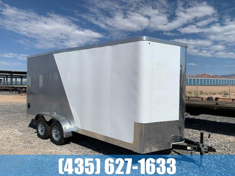 2021 Mirage Trailers 7x16 Side by Side Pkg Enclosed Cargo Trailer