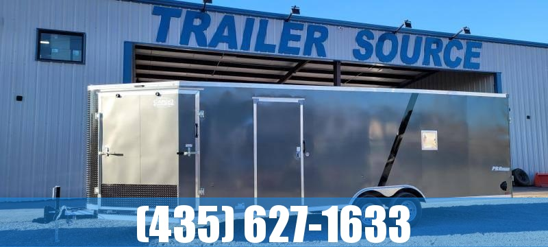 2022 Look Trailers Look Puresport Vision Auto Enclosed Snowmobile Trailer Enclosed Cargo Trailer