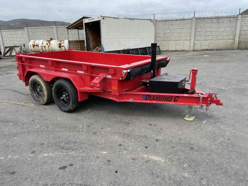 2021 Diamond C Trailers 5x10 Dump Trailer