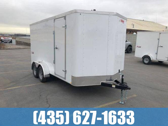 Mirage 7x14 Tandem Axle Enclosed Cargo Trailer w/ Ramp Door